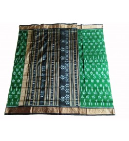 Handloom Pure Silk Printed Odisha Ikat Saree For Women By Dharanidhar Meher