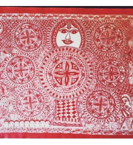 Madhubani Painting Kohbar Digital Reprint By Sita The Culture