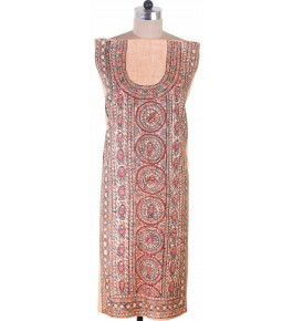 Madhubani Painting Cotton Kurti For Women
