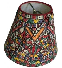Madhubani Painting Beautiful Handmade Lamp Cover