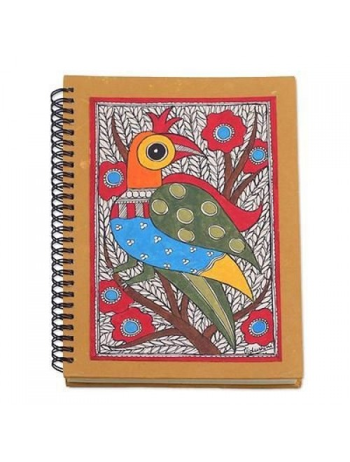 Beautiful Handmade Madhubani Painting Diary By Sita The Culture