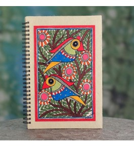 Madhubani Painting Handmade Diary By Sita The Culture