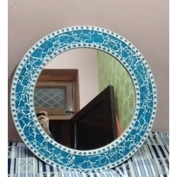 Moradabad Metal Crafts Iron Handmade Wall Mirror