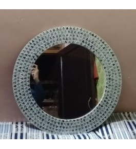 Handmade Moradabad Metal Crafts Iron Wall Mirror