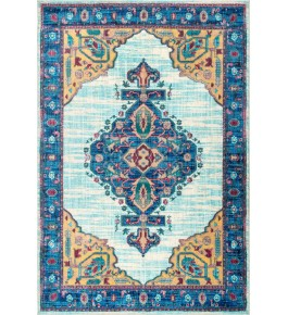 Hand Woven Carpet Of Bhadohi (8x5 ft)