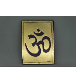 Handcrafted Metal Magnet Om Photo Frame By Indian Handicrafts