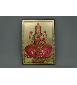 Handcrafted Metal Magnet Laxmi Ji Photo Frame By Indian Handicrafts