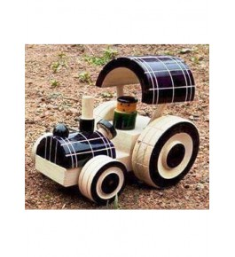 Handcrafted Wooden Tractor Channapatna Toys By Sri Manjunath Toy's Factory