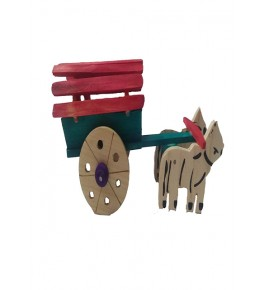 Channapatna Toys & Dolls Handcrafted Bullock Wooden Toys By Sri Manjunath Toy's Factory