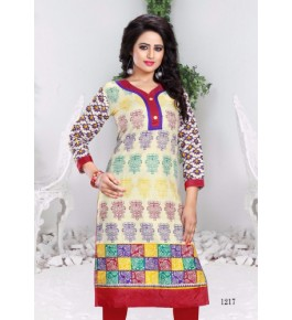 Bombay Threadz Printed Cotton Kurta