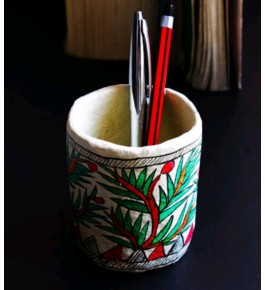 Handmade Beautiful Printed Pen Holder