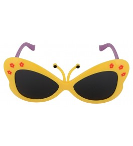 MACHOINE UV Protected Butterfly Baby Girls' Sunglasses