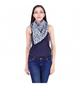 Sanganeri Hand Block Printing Cotton Scarf For Women By Shree Shyam Textiles & Handicrafts