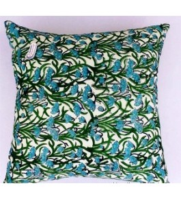 Bagru Hand Block Print Cotton Pillow Cover