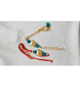 Beautiful Fancy Couple Rakhi By Nancy Handicrafts