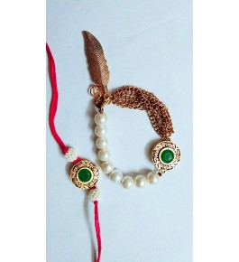 Beautiful Couple Rakhi By Nancy Handicrafts