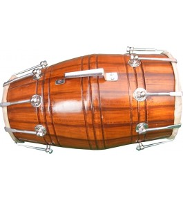 Handmade Nut & Bolts Dholak (Orange) By Ram Raheem Handicrafts