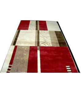 Mirzapur Handmade Dari Hand Tufted Cotton Carpet For Home Decor/Living Room/Bedroom (4 X10 Ft) By One Place Rugs & Textiles