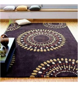"Hand Tufted Cotton Carpets For Home Decor/Living Room/Bedroom (4""x10"") By One Place Rugs & Textiles"