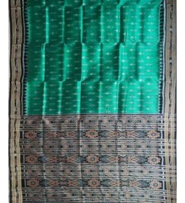 Attractive Green Khandua Silk Saree for Women