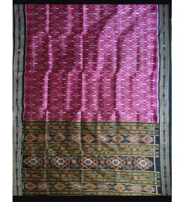 Graceful and Attractive Pink Khandua Silk Saree for Women