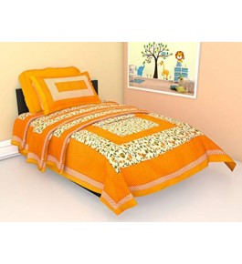 Beautiful Cotton Single Bed Sheet By Kumar Enterprises