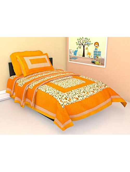 Solapur Chaddar Highly Durable Beautiful Cotton Double Bedsheet