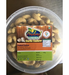 Vengurla Cashew Roasted Garlic Nuts Delicious & Healthy 100g