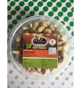 Vengurla Cashew Roasted Mint Nuts Delicious & Healthy 100g
