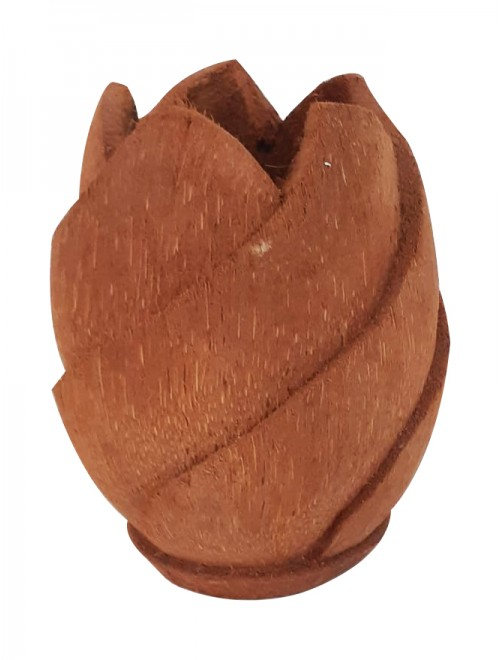 Lotus Table Pot Coconut Shell Craft