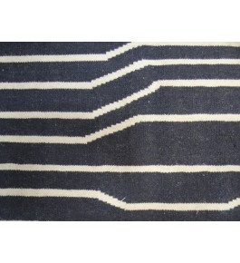 Hand Woven Durable Quality Cotton & Wool Bed Side Runner By Pyarelal Maurya
