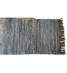 Agra Durrie Hand Tufted Durable Quality Woolen & Cotton Durrie (3x5 Ft) By S.R. Handloom