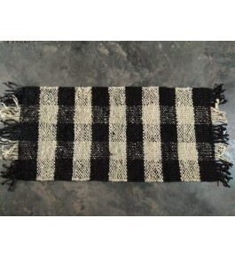 Hand Tufted Durable Quality Woolen & Cotton Durrie (3x5 ft) By S.R. Handloom