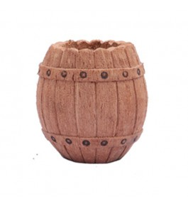 Handcrafted Coconut Husk Pen Stand By Rahul Handicrafts
