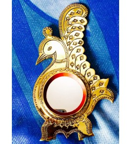 Aranmula Kannadi Peacock Glass Mirror By Aranmula Mirrors
