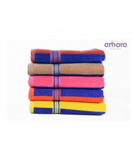Soft Cotton Face Della Towel (Set Of 6) By Amora-The Bath Collection A Brand Of Rathi Overseas