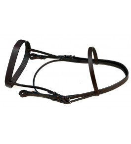 KANPUR SADDLERY Bridle DD Leather Hardware SS Fitting By Star Horse