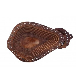 Saharanpur Wood Craft Wooden Fruit Spring Tray By Shakir Rabbani Wood Handicraft