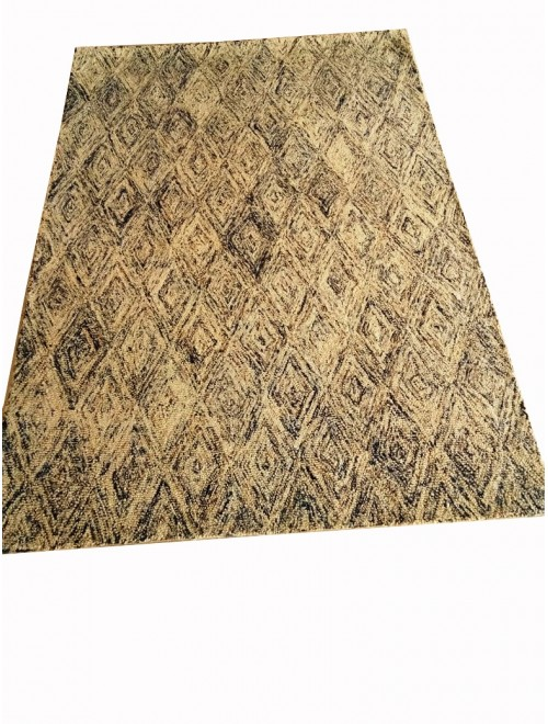 Hand Tufted Durable Quality Woolen & Viscose Loop Durrie/Carpet By Vinay Carpet