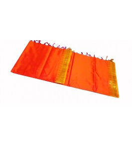 Salem Silk Double Shade Pure Silk Saree With Lines Pallu For Women