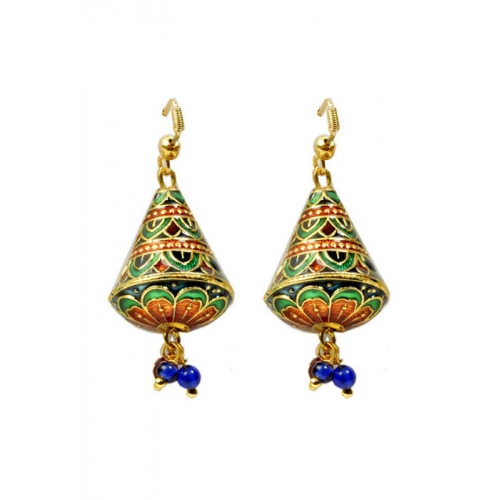 Meena Work Earring
