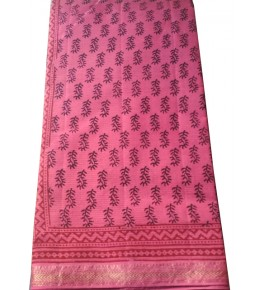 Bagh Prints Of Madhya Pradesh Handloom Saree For Women By Sonam Bagh Prints