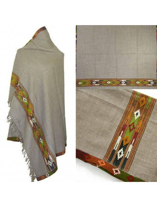 Kullu Shawl Handwoven & Crafted Kullu Woolen Shawl For Women By Kullu Fab