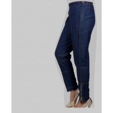 FRENCH STYLE DENIM WOMEN PANT