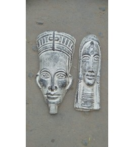 Handmade Traditional Purulia Chau Tribal Face Design Mask