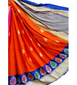 Banaras Brocades & Saree kadiyal Silk Handloom For Women By Swaleh Ansari