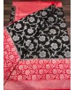 Handloom Banarasi Silk Black Saree For Women By Loolu Silk Craft