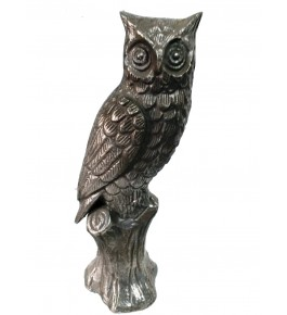 Moradabad Metal Craft Owl By Tijarat Metal Handicrafts