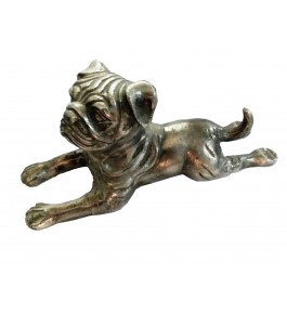 Moradabad Metal Craft Dog By Tijarat Metal Handicrafts