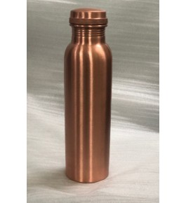 Moradabad Metal Craft Bottle 1L By Tijarat Metal Handicrafts
